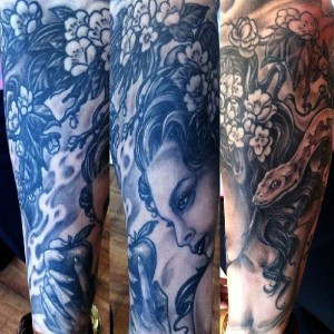 Tattoo by Lee